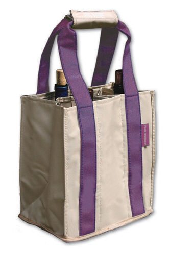 Party To Go Tote<br>Purple/Tan<br>