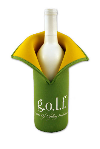 <strong>g.o.l.f.</strong><br>(Game of Lifelong Frustration)<br>Insulated Wine Jacket